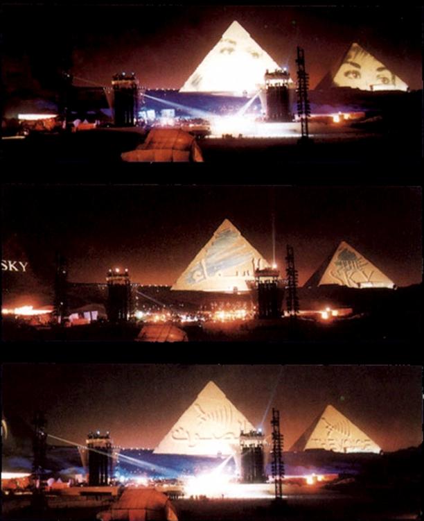 Jean Michel Jarre The Twelve Dreams Of The Sun Pyramids